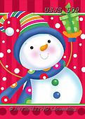 Janet, CHRISTMAS SANTA, SNOWMAN, WEIHNACHTSMÄNNER, SCHNEEMÄNNER, PAPÁ NOEL, MUÑECOS DE NIEVE, paintings+++++,USJS509,#x#