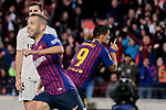 FC Barcelona's XXX and Real Madrid's XXX during La Liga match between FC Barcelona and Real Madrid at Camp Nou Stadium in Barcelona, Spain. October 28, 2018. (ALTERPHOTOS/A. Perez Meca)