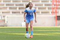 Bridgeview, IL, USA - Sunday, May 29, 2016: Chicago Red Stars midfielder Alyssa Mautz (4) during a regular season National Women's Soccer League match between the Chicago Red Stars and Sky Blue FC at Toyota Park. The game ended in a 1-1 tie.