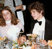 Caroline Kennedy John Kennedy Jr. Undated<br /> Photo By John Barrett/PHOTOlink