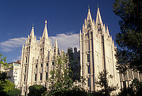 Salt Lake City, UT, temple, mormons, Utah, Mormon Temple in Salt Lake City. The Church of Jesus Christ of Latter-day Saints.