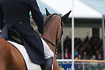 Jean Teulere riding Matelot Du Grand Val during the dressage phase of the 2012 Land Rover Burghley Horse Trials in Stamford, Lincolnshire