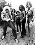 Twisted Sister 1983 .© Chris Walter.