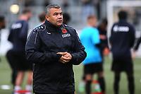 Head Coach of Maidstone United, Hakan Hayrettin during Maidstone United vs Torquay United, Emirates FA Cup Football at the Gallagher Stadium on 9th November 2019