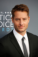 Justin Hartley attends the 23rd Annual Critics' Choice Awards at Barker Hangar in Santa Monica, Los Angeles, USA, on 11 January 2018. Photo: Hubert Boesl - NO WIRE SERVICE - Photo: Hubert Boesl/dpa/dpa-mag /MediaPunch ***FOR USA ONLY***