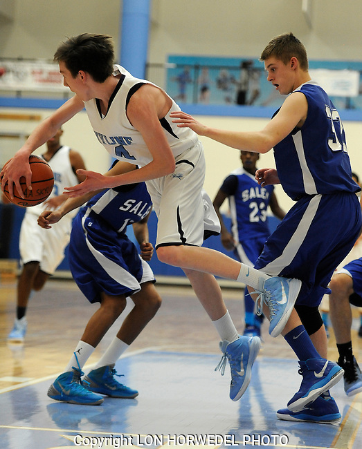 Skyline High School vs. Salem High School boy's junior varsity basketball at Skyline, Tuesday, December 9, 2014.