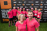 Runners compete during the Bloomberg Square Mile Relay race across Tumbalong Park, Darling Harbour on 15 March 2017 in Sydney, Australia. Photo by Steve Christodoulopoulos / Power Sport Images
