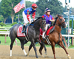 Scenes from around the track on Woodward Stakes day on September 01, 2018 at Saratoga Race Course in Saratoga Springs, New York. (Bob Mayberger/Eclipse Sportswire)