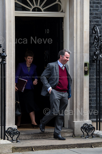 (From R to L) Oliver Letwin MP (Minister for Government Policy, Chancellor of the Duchy of Lancaster) &amp; Baroness Stowell of Beeston MBE (Leader of the House of Lords, Lord Privy Seal).<br />