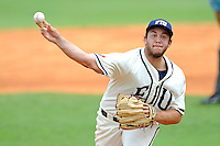2 May 2010:  FIU's Scott Rembisz (30) pitches in the first inning as the University of Louisiana-Monroe Warhawks defeated the FIU Golden Panthers, 8-7 in 11 innings, at University Park Stadium in Miami, Florida.