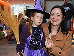Brenda and Ruth Campbell pictured at the Halloween party in Scotch Hall. Photo:Colin Bell/pressphotos.ie