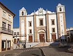 Church of Santo Antão dating from 1557, Giraldo Square, Praça do Giraldo, Evora, Alto Alentejo, Portugal southern Europe