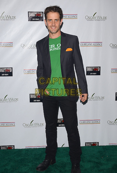 27 February 2014 - Santa Monica, California - Joey McIntyre. Arrivals for the 9th Annual &quot;Oscar Wilde: Honoring The Irish In Film&quot; Pre-Academy Awards Event at Bad Robot in Santa Monica, Ca. <br /> CAP/ADM/BT<br /> &copy;Birdie Thompson/AdMedia/Capital Pictures
