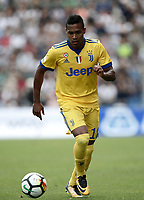 Calcio, Serie A: Reggio Emilia, Mapei stadium, 17 settembre 2017.<br /> Juventus' Alex Sandro in action during the Italian Serie A football match between Sassuolo and Juventus at Reggio Emilia's Mapei stadium, September 17, 2017.<br /> UPDATE IMAGES PRESS/Isabella Bonotto