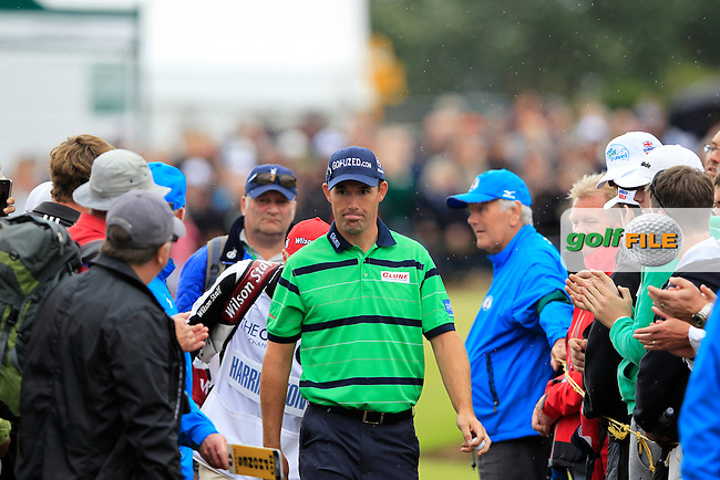 Padraig Harrington (IRL) walks to the 12th tee during Friday's Round 2 of the 141st Open Championship at Royal Lytham & St.Annes, England 20th July 2012 (Photo Eoin Clarke/www.golffile.ie)