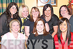 LAUGH: Having a laugh in Harty's Bar & Restaurant, Causeway, on Sunday Night for Little Christmas were front l-r: Helena O'Leary, Caroline McEnery and Lisa Sheehan. Back l-r: Noelle O'Connor, Paula White, Paula Mulvihill, Eileen Sheehan and Josephine Burke.   Copyright Kerry's Eye 2008