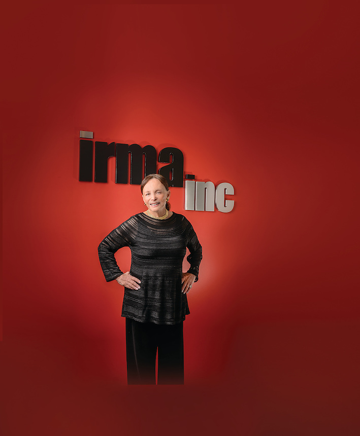 Irma Mann of IRMA Inc. Photographed at her office for Emerson College