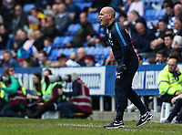 Preston North End's manager Alex Neil barks instructions<br /> <br /> Photographer Andrew Kearns/CameraSport<br /> <br /> The EFL Sky Bet Championship - Reading v Preston North End - Saturday 30th March 2019 - Madejski Stadium - Reading<br /> <br /> World Copyright © 2019 CameraSport. All rights reserved. 43 Linden Ave. Countesthorpe. Leicester. England. LE8 5PG - Tel: +44 (0) 116 277 4147 - admin@camerasport.com - www.camerasport.com