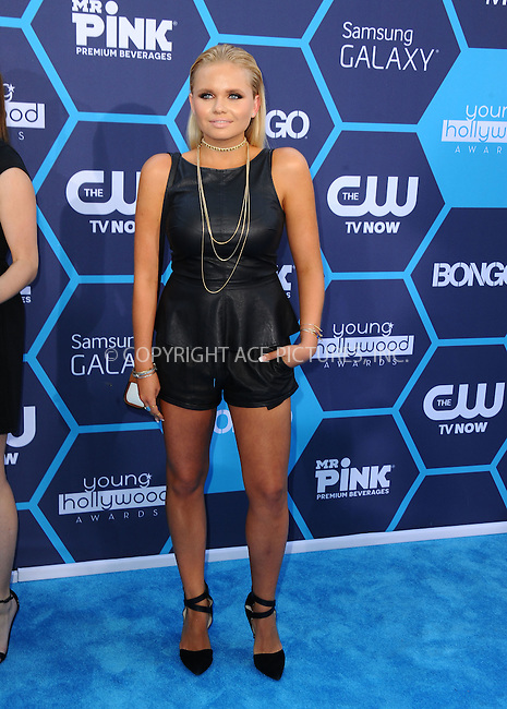 ACEPIXS.COM<br /> <br /> July 27 2014, LA<br /> <br /> Alli Simpson arriving at the 2014 Young Hollywood Awards at The Wiltern on July 27, 2014 in Los Angeles, California. <br /> <br /> By Line: Peter West/ACE Pictures<br /> <br /> ACE Pictures, Inc.<br /> www.acepixs.com<br /> Email: info@acepixs.com<br /> Tel: 646 769 0430