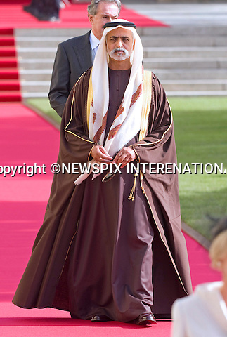 """SHEIKH NAHYAN BIN MUBARAK AL NAHYAN OF THE UAE.Religious Wedding Ceremony of HRH the Hereditary Grand Duke and Countess Stéphanie de Lannoy at Cathedral of Our lady of Luxembourg, Luxembourg_20-10-2012.Mandatory credit photo: ©Dias/NEWSPIX INTERNATIONAL..(Failure to credit will incur a surcharge of 100% of reproduction fees)..                **ALL FEES PAYABLE TO: """"NEWSPIX INTERNATIONAL""""**..IMMEDIATE CONFIRMATION OF USAGE REQUIRED:.Newspix International, 31 Chinnery Hill, Bishop's Stortford, ENGLAND CM23 3PS.Tel:+441279 324672  ; Fax: +441279656877.Mobile:  07775681153.e-mail: info@newspixinternational.co.uk"""
