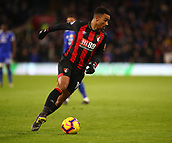 2nd February 2019, Cardiff City Stadium, Cardiff, Wales; EPL Premier League football, Cardiff City versus AFC Bournemouth; Junior Stanislas of Bournemouth turns inside
