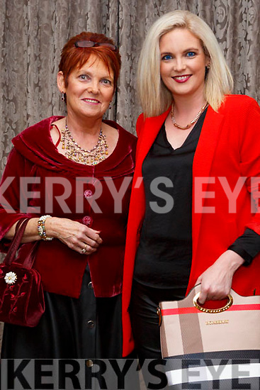 Rita Holly and Caroline Horgan at the Shaws Fashion Show at The Rose Hotel on Thursday night