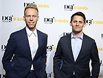 Justin Paul and Benj Pasek attends the Dramatists Guild Foundation toast to Stephen Schwartz with a 70th Birthday Celebration Concert at The Hudson Theatre on April 23, 2018 in New York City.