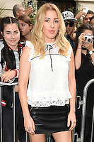 Ellie Goulding<br /> arrives for the TopShop UNIQUE catwalk show as part of London Fashion Week SS17, Old Spitalfields Market, London<br /> <br /> <br /> &copy;Ash Knotek  D3155  17/09/2016