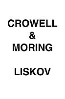 Crowell & Moring Liskov