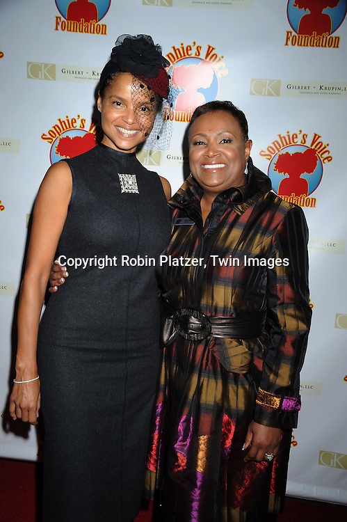 Victoria Rowell and Vicki Palmer
