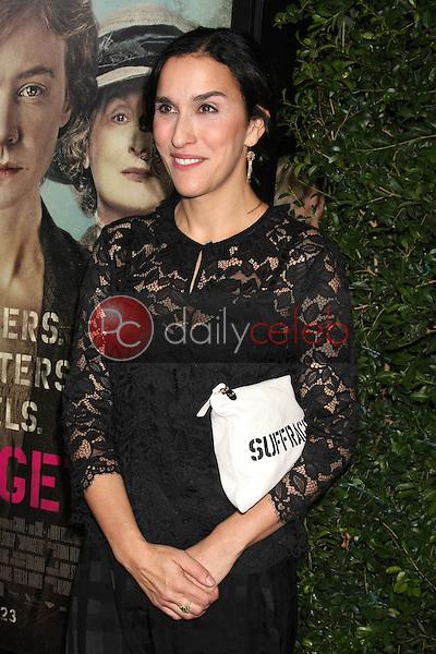 "Sarah Gavron<br /> at the ""Suffragette"" Premiere, Samuel Goldwyn Theater, Beverly Hills, CA 10-20-15<br /> David Edwards/DailyCeleb.Com 818-249-4998"