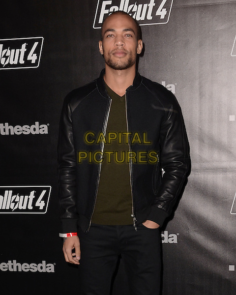 05 November - Los Angeles, Ca - Kendrick Sampson. Arrivals for the official launch party of the video game &quot;Fallout 4&quot; held at a private location in Downtown LA.  <br /> CAP/ADM/BT<br /> &copy;BT/ADM/Capital Pictures