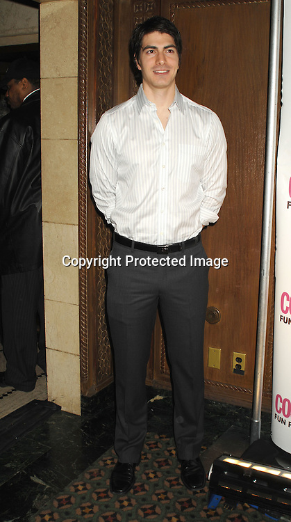 Brandon Routh..at The Cosmopolitan Fun Fearless Male of the Year Award Luncheon on January 22, 2007 at Ciprianis 42nd Street. All of the men were honored...Robin Platzer, Twin Images