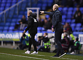 31st October 2017, Madejski Stadium, Reading, England; EFL Championship football, Reading versus Nottingham Forest; Jaap Stam of Reading gestures to his team