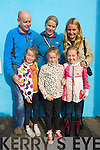 Enjoying Dingle Food festival on Saturday were front from left: Cara and Ava Gannon and Kate Kerins. Back from left Peter, Olivia and Anna Gannon.