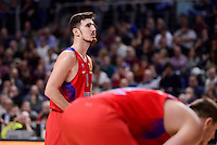 CSKA Moscow Nando de Colo during Turkish Airlines Euroleague match between Real Madrid and CSKA Moscow at Wizink Center in Madrid, Spain. January 06, 2017. (ALTERPHOTOS/BorjaB.Hojas)