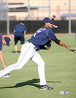 Adys Portillo / San Diego Padres 2008 Instructional League..Photo by:  Bill Mitchell/Four Seam Images