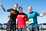 Enjoying the 2017  Ballyheigue, Half on the Head & 10km Run on Saturday were  Ollie O'Sullivan, Trevor Leen and Jack Moriarty
