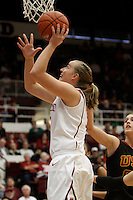 STANFORD, CA - FEBRUARY 7:  Mikaela Ruef of the Stanford Cardinal during Stanford's 77-39 win over USC on February 7, 2010 at Maples Pavilion in Stanford, California.