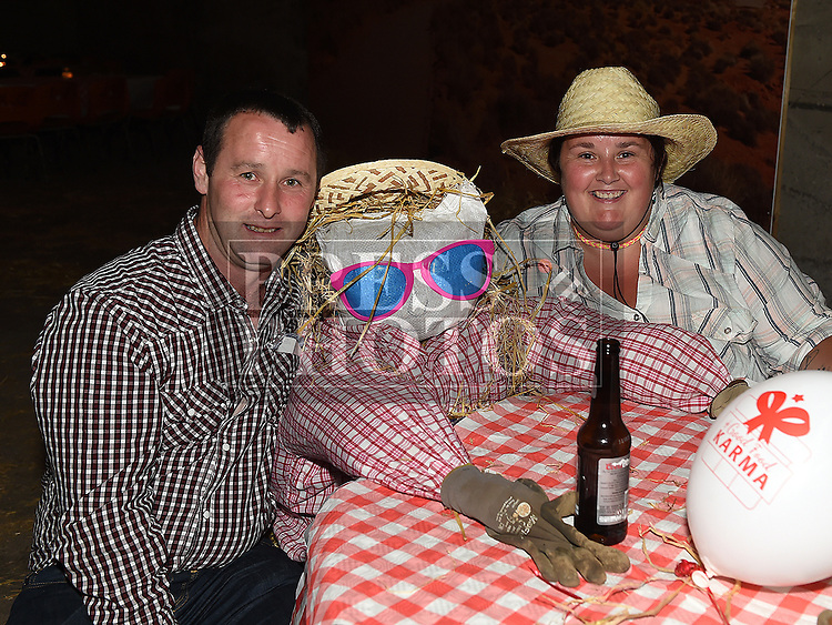 Garon and Julie Duff at the Oberstown Farm barn dance. Photo:Colin Bell/pressphotos.ie