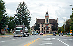 Flathead County courthouse in Kalispell, Montana
