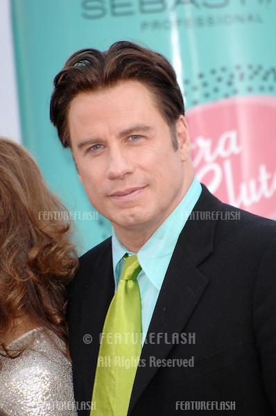 "John Travolta at the Los Angeles premiere of ""Hairspray"" at the Mann Village Theatre, Westwood..July 11, 2007  Los Angeles, CA.Picture: Paul Smith / Featureflash"