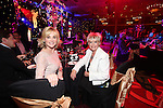 Anthea Turner with Gloria Hunniford<br /> Celebrity Cup Gala Dinner<br /> Celtic Manor Resort<br /> 05.07.14<br /> &copy;Steve Pope-SPORTINGWALES