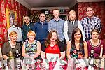 Staff of Daybreak, Monavalley enjoying their Christmas party on Saturday night at Cassidy's front l-r  Marie Nix's, Denise O'Sullivan, Ciara Conlon, Stephanie Nix's and Trish Hunt. Back l-r  Obowie Nix, Richard O'Brien, John Nix, Darren O'Sullivan, Adrianne Amborski, and Martin Nix