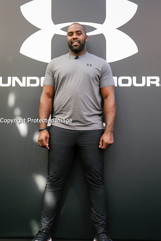 LE CHAMPION OLYMPIQUE TEDDY RINER SIGNE UN PARTENARIAT AVEC UNDER ARMOUR, SON NOUVEL EQUIPEMENTIER.