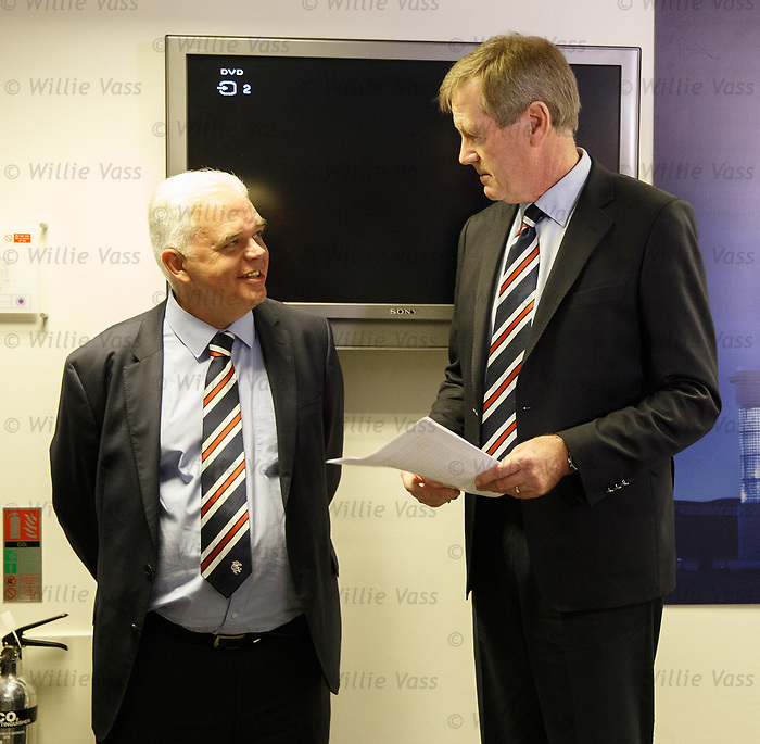 James Blair and Dave King