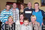 MIDNIGHT: Bringing in the new year at the Crown Hotel, Castleisland, were, front l-r: Noreen Ryan, Miriam Kelly, Evan and Kay O'Brien. Back l-r: Niall Ryan, John Sugrue, Mary O'Brien, Damien London and Donnacha Ryan.   Copyright Kerry's Eye 2008