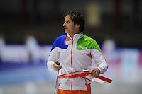SCHAATSEN: HEERENVEEN: Thialf, World Cup, 02-12-11, coach KNSB Jong Oranje Erik Bouwman, ©foto: Martin de Jong