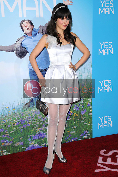 Zooey Deschanel <br /> at the Los Angeles Premiere of 'Yes Man'. Mann VIllage Theater, Westwood, CA. 12-17-08<br /> Dave Edwards/DailyCeleb.com 818-249-4998