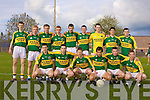 Kerry minor team Vs Limerick, NCW.